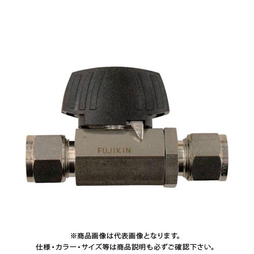 フジキン ステンレス鋼製3.92MPaパワフル継手付ボール弁 PUBV-94-12