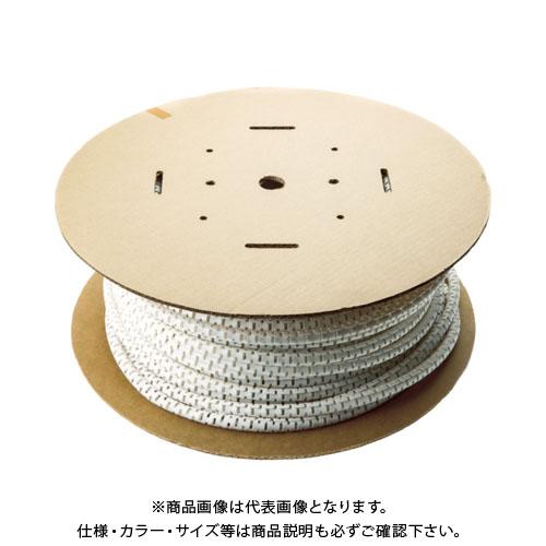 パンドウイット 電線保護チューブ スリット型スパイラル パンラップ 束線径28.6Φmm 15m巻き 難燃性白 PW150FR-LY