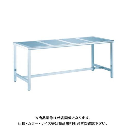 【直送品】 TRUSCO パンチングテーブルSUS304 1800X750 #400 PTB-1870