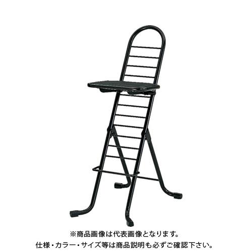 【個別送料1000円】【直送品】 セイコー プロワークチェア 黒 PW-500:BK