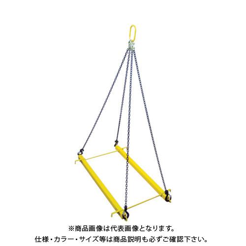 【運賃見積り】【直送品】 HHH パレットツール標準セット3点 1.5t PTS15