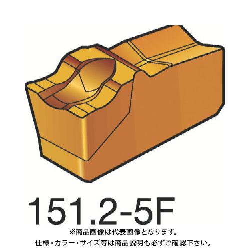 サンドビック T-Max Q-カット 突切り・溝入れチップ 235 10個 R151.2-250 05-5F:235