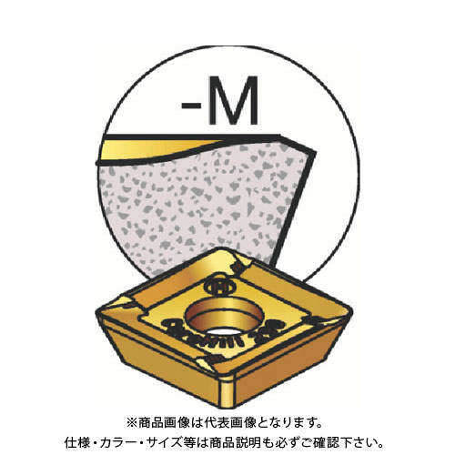 サンドビック コロミル290用チップ 2040 10個 R290.90-12T320M-MM:2040