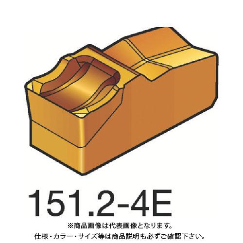 サンドビック T-Max Q-カット 突切り・溝入れチップ 4225 10個 R151.2-40005-4E:4225