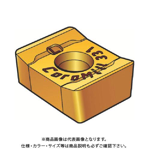 サンドビック コロミル331用チップ 1040 10個 R331.1A-05 45 15H-WL:1040