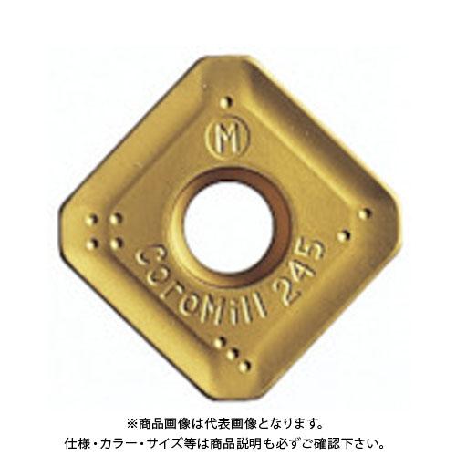 サンドビック コロミル245用チップ S40T 10個 R245-12T3K-MM:S40T