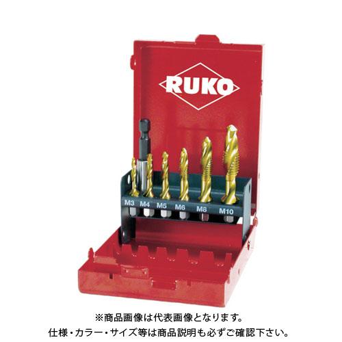 RUKO 六角軸タッピングドリル チタン セット R270021T