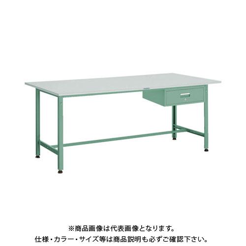【直送品】 TRUSCO RAE型作業台 1800X900XH740 1段引出付 RAE-1809F1