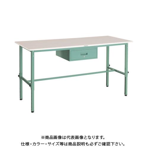 【直送品】 TRUSCO RAEM型高さ調節作業台 1800X900 1段引出付 RAEM-1809F1