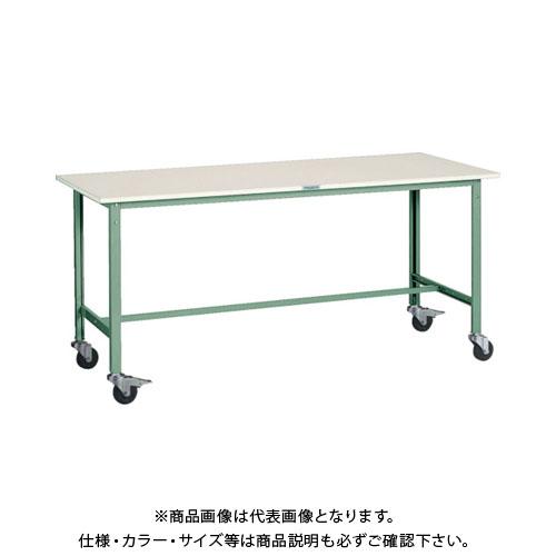 【直送品】 TRUSCO RAE型作業台 1800X750 Φ100キャスター付 RAE-1800C100
