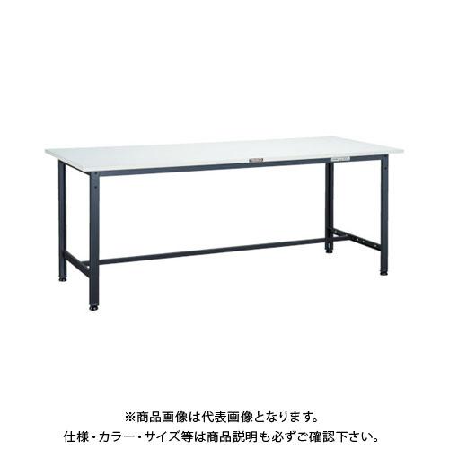 【直送品】 TRUSCO RAE型作業台 1200X600XH740 DG色 RAE-1260 DG