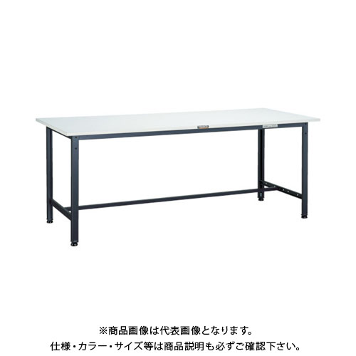 【直送品】 TRUSCO RAE型作業台 1500X900XH740 DG色 RAE-1509 DG