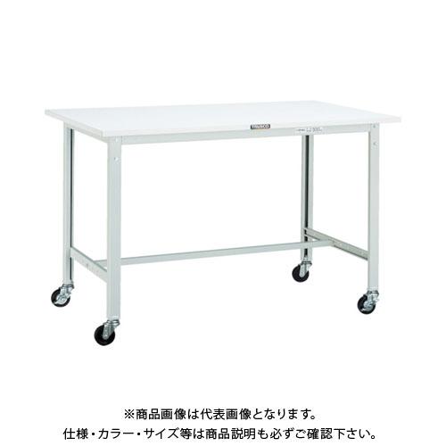【直送品】 TRUSCO RAE型作業台 1800X750 75φキャスター付 W色 RAE-1800C75 W