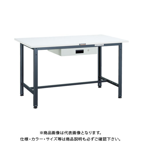 【直送品】 TRUSCO RAE型作業台 1800X7450XH740 薄型1段引出付 DG RAE-1800UDK1 DG
