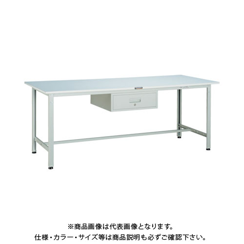 【直送品】 TRUSCO RAE型作業台 1800X900 1段引出付 W色 RAE-1809F1 W