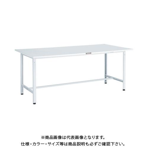 【直送品】 TRUSCO RAE型作業台 1500X600XH740 W色 RAE-1560 W