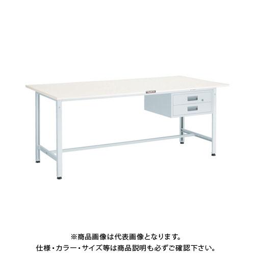 【直送品】 TRUSCO RAE型作業台 1800X900XH740 2段引出付 W色 RAE-1809F2 W