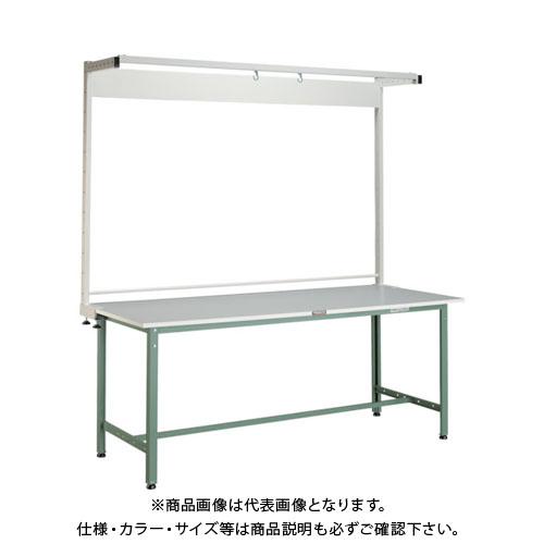 【直送品】 TRUSCO RAE型作業台 1800X900 ツールハンガー付 RAE-1809THN