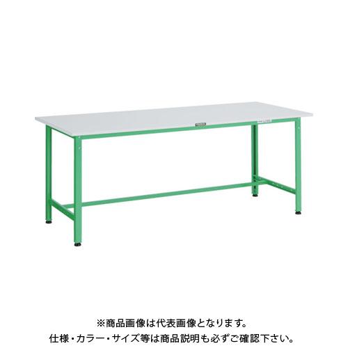 【直送品】 TRUSCO RAE型作業台 1800X600XH740 YG色 RAE-1860 YG