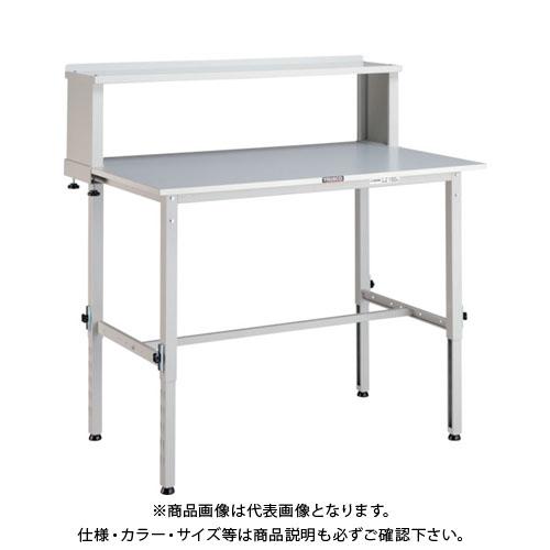 【直送品】 TRUSCO RAEM型高さ調節作業台 900X600 上棚付 W色 RAEM-0960YURB W