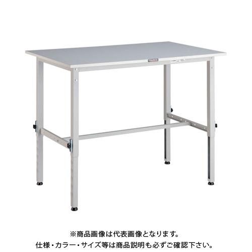 【直送品】 TRUSCO RAEM型高さ調節作業台 1200X900 W色 RAEM-1209 W