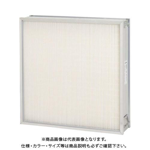 【直送品】 ミドリ安全 ろ材交換型中性能フィルタ(RBE型・厚み150mm) RBE6130.5150N-70J