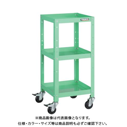 【運賃見積り】【直送品】TRUSCO ラビットワゴン 600X400 ゴム車輪 YG色 RBW-763 YG