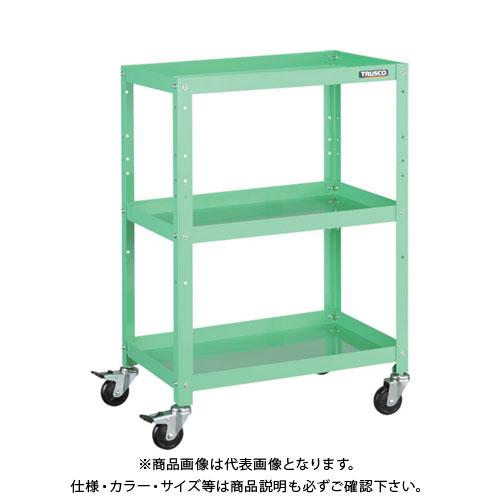 【運賃見積り】【直送品】TRUSCO ラビットワゴン 700X450 ゴム車輪 YG色 RBW-973 YG