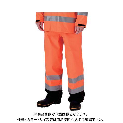 【20日限定!3エントリーでP16倍!】ミドリ安全 雨衣 レインベルデN 高視認仕様 下衣 蛍光オレンジ M RAINVERDE-N-SITA-OR-M
