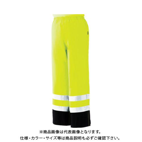 【8月1日限定!Wエントリーでポイント14倍!】ミドリ安全 雨衣 レインベルデN 高視認仕様 下衣 蛍光イエロー L RAINVERDE-N-SITA-Y-L