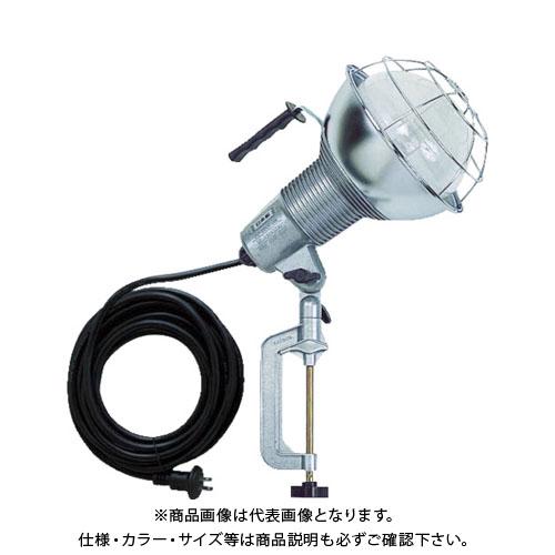 ハタヤ 防雨型水銀作業灯 バラストレス水銀ランプ300W 100V5m バイス付 RGM-305