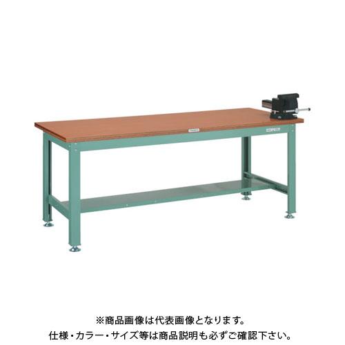 【直送品】 TRUSCO RHW型作業台 1800X900XH740 バイス付 RHW-1809VRS