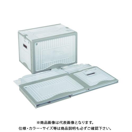 【直送品】リス リスボックス (1S(箱)=5個入) グレー RISUBOX40B2:GY