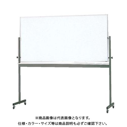 【直送品】 TRUSCO 回転ボード 両面仕様 白X白暗線 900X1200 RG-314A