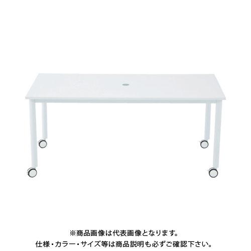 【運賃見積り】【直送品】 アールエフヤマカワ キャスターテーブル脚 W1600xD800 RFCTT-WL1680WH