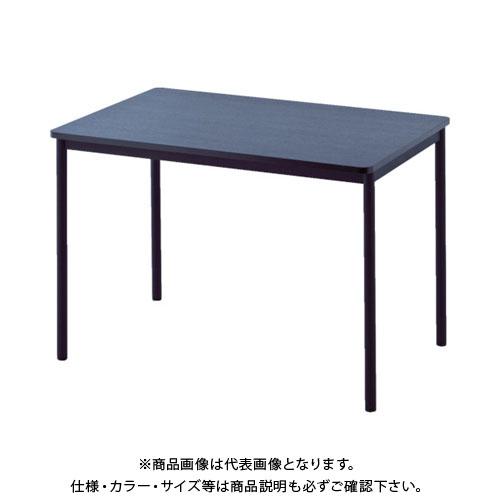 【運賃見積り】【直送品】 アールエフヤマカワ RFシンプルテーブル W1000×D700 ダーク RFSPT-1070DB