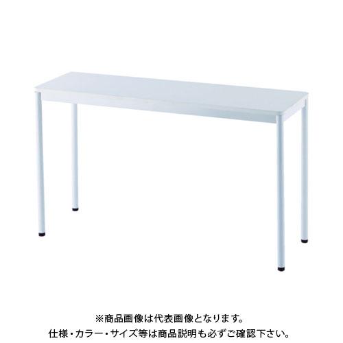 【運賃見積り】【直送品】 アールエフヤマカワ RFシンプルテーブル W1200×D400 ホワイト RFSPT-1240WH