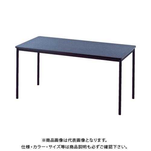 【運賃見積り】【直送品】 アールエフヤマカワ RFシンプルテーブル W1400×D700 ダーク RFSPT-1470DB