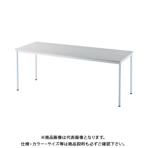 【運賃見積り】【直送品】 アールエフヤマカワ RFシンプルテーブル W1800×D700 ナチュラル RFSPT-1870NA