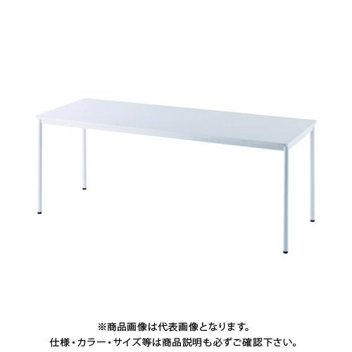 【運賃見積り】【直送品】 アールエフヤマカワ RFシンプルテーブル W1800×D700 ホワイト RFSPT-1870WH