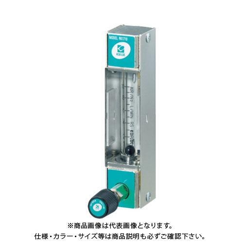 コフロック 小型フローメータRK1710シリーズ RK1710-H2O-500ML/MIN