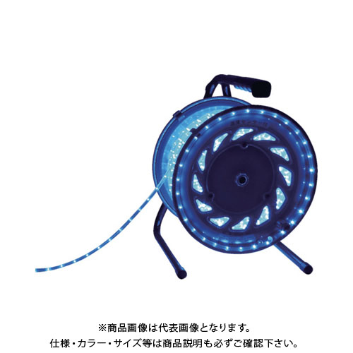 日動 LEDラインチューブドラム青 RLL-50S-B