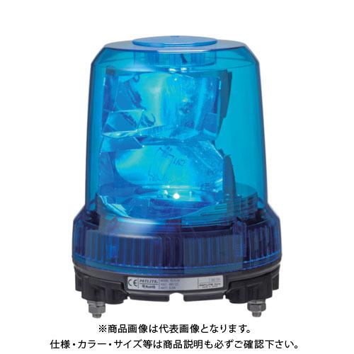 パトライト 強耐振型LED回転灯 RLR-M2-P-R