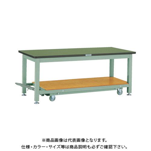 【運賃見積り】【直送品】 TRUSCO RTWC型作業台 1800X750XH740 RTWC-1800