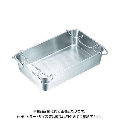 IKD 18-8 ストッパー付給食バット 運搬型 S02200006000