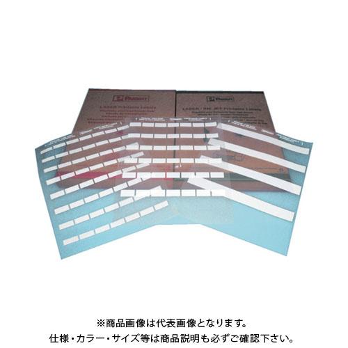 パンドウイット レーザープリンタ用セルフラミネートラベル 白 S100X150YAJ