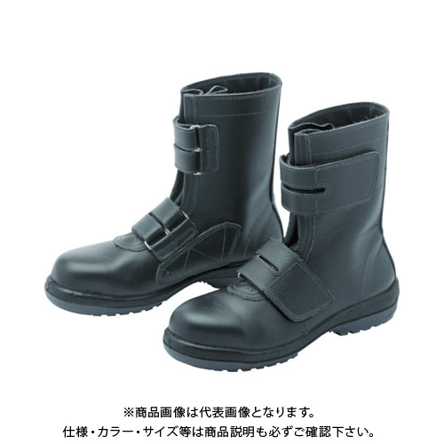 ミドリ安全 ラバーテック安全靴 長編上マジックタイプ RT735-24.0