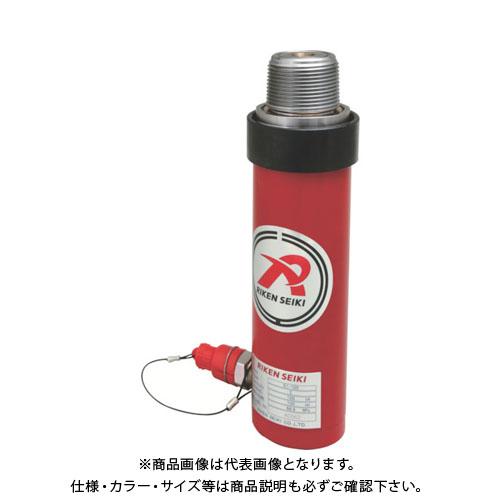 【個別送料1000円】【直送品】 RIKEN 単動シリンダ ストローク100mm VCカプラ付 S1-100VC