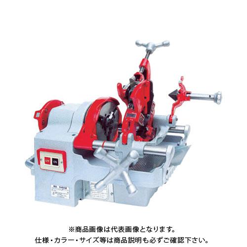 【運賃見積り】【直送品】REX 手動切上ダイヘッド付パイプマシン S40A S40A