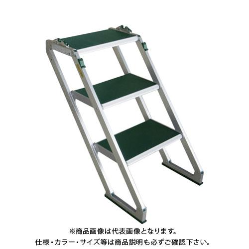 【運賃見積り】【直送品】 MT MTステップS型3段 S503